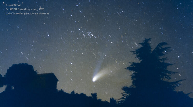 Naked eye comets through a lifetime