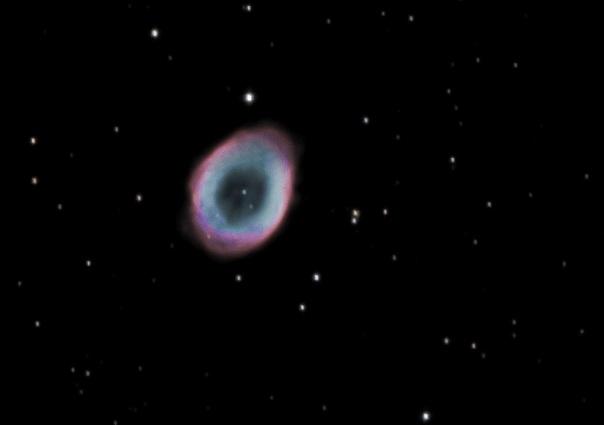 M57. La nebulosa de l'anell (the ring nebula)